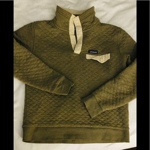 Patagonia Cotton Quilted Snap-T Pullover